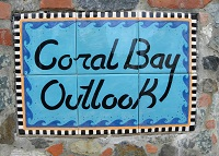 coral bay outlook entrance view